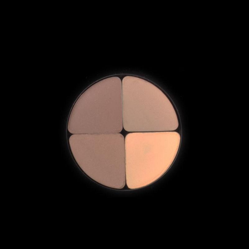 سایه چهار رنگ کریستال لاکچری کوین 601