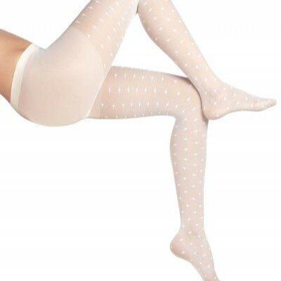 جوراب شلواری زنانه طرحدار نازک
