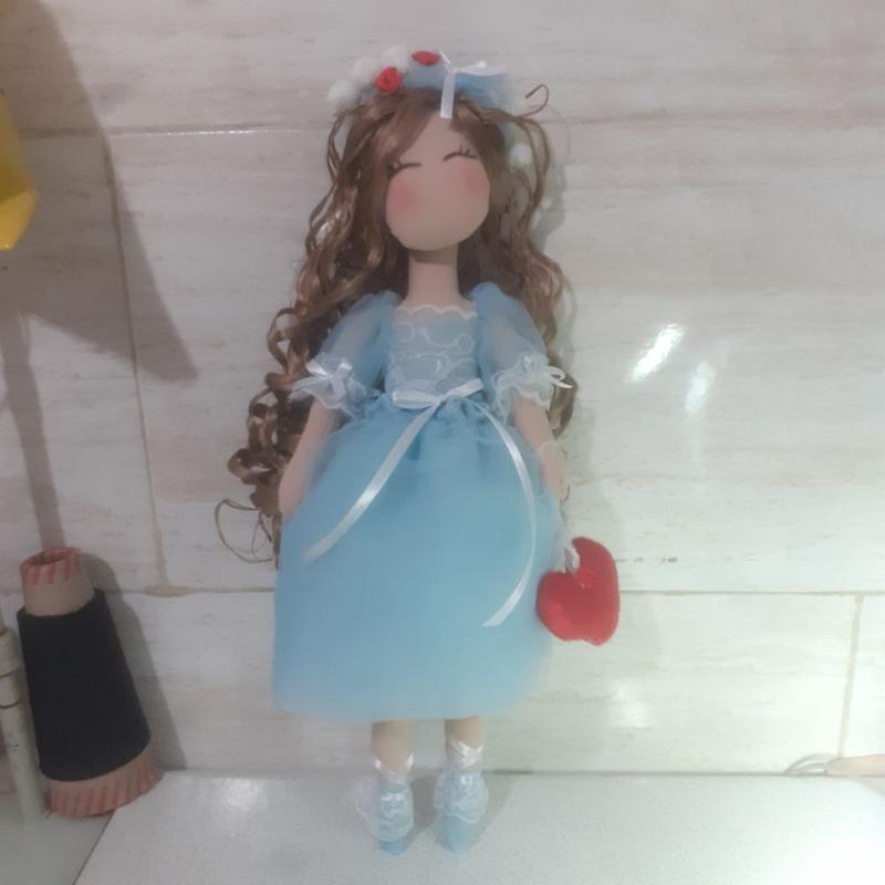 عروسک تیلدا 45 سانتی