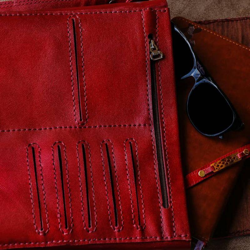 کیف اسپرت چرم طبیعی