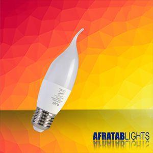 لامپ LEDاشکی7وات افراتاب سفید