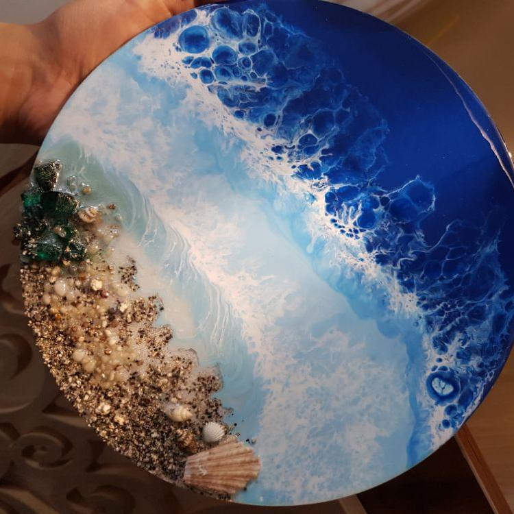 تابلوی دریای رزینی