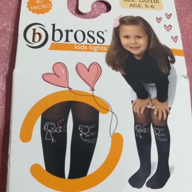 جوراب شلواری بچهگانه bross ترک فانتزی