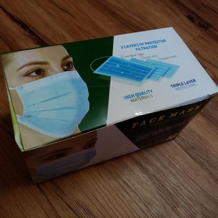 ماسک پرستاری سه لایه