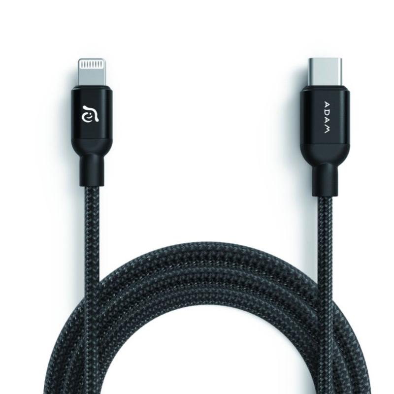 کابل تبدیل USB C به لایتنینگ آدام المنتس