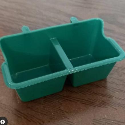 دانخوری پلاستیکی دوقلو