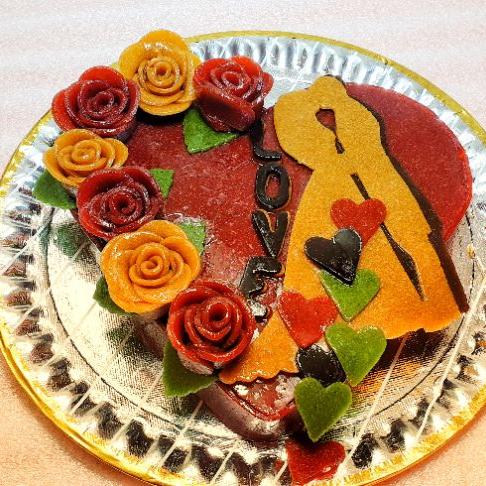 کیک عروس داماد