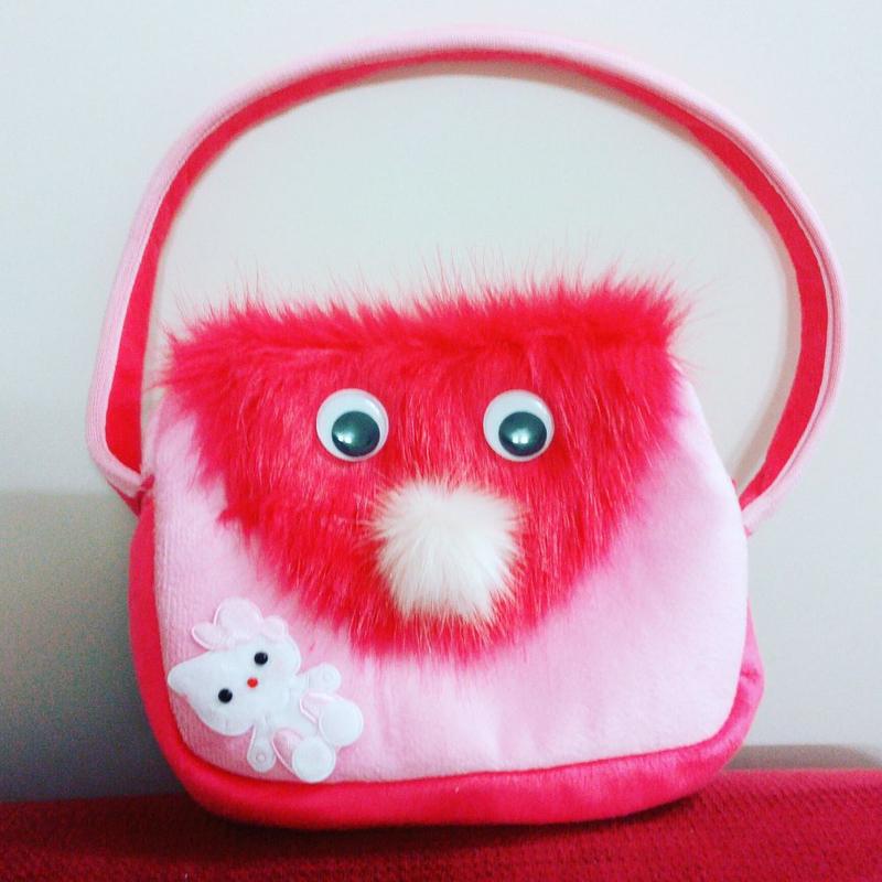 کیف خزدار طرح کیتی