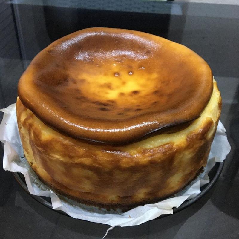 چیز کیک کیودی متوسط